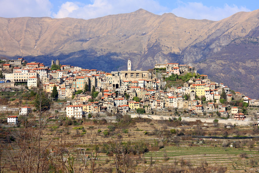 Triora ormeggio Liguria