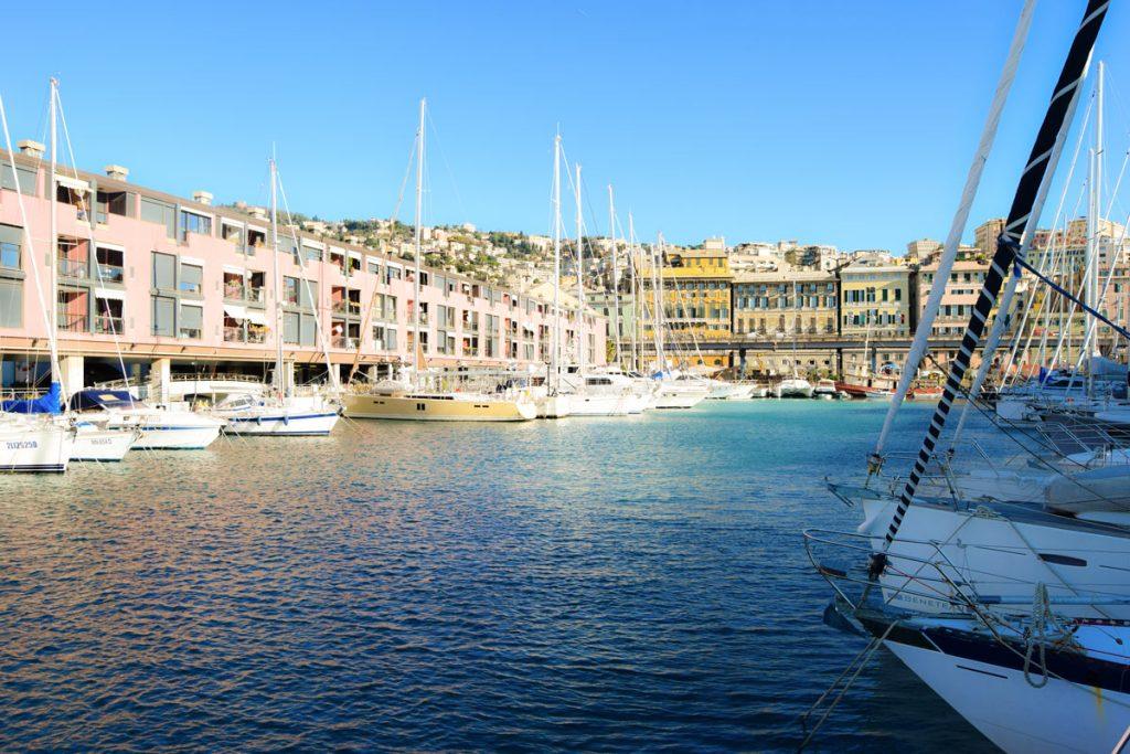 Marina Porto Antico Genova Ormeggio