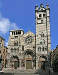 La cattedrale di San Lorenzo Genova ormeggio