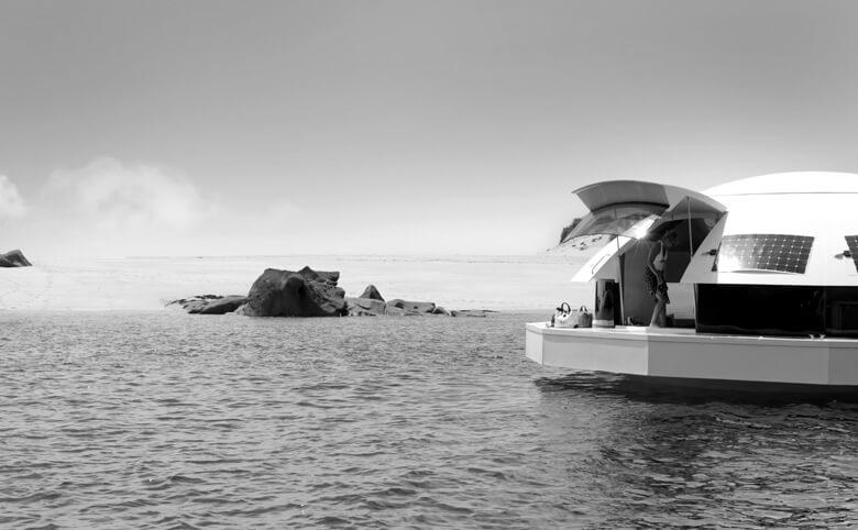 Anthenea casa galleggiante