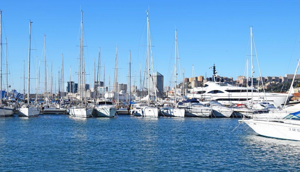 Marina Porto Antico posto barca liguria
