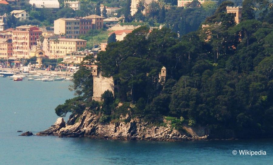 ormeggi Rapallo torre castello di Pagana-Genova