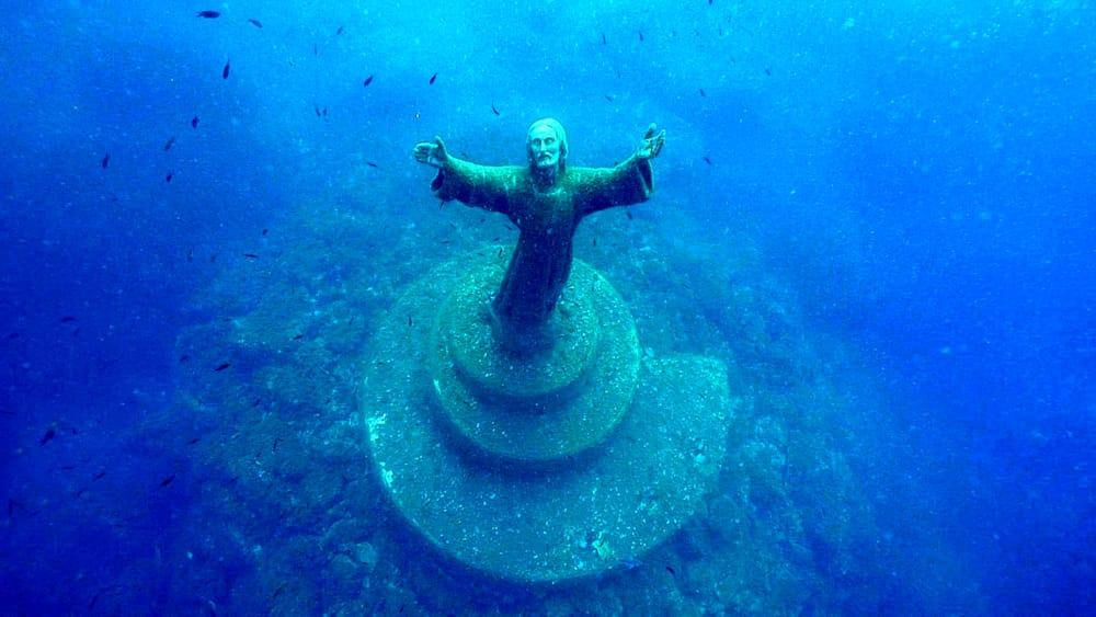 Cristo degli Abissi Liguria
